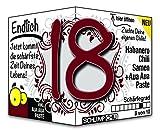 Endlich 18 - das witzige Geburtstagsgeschenk für junge Männer und Frauen :)