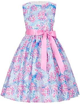 Grace Karin A-Línea Vestido Estampado de Princesa sin Mangas de Dama de Honor Fiesta para Niñas 2-12 Años