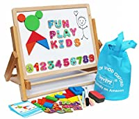 Toys of Wood Oxford Wooden Easel - Foldable Table Top Easel