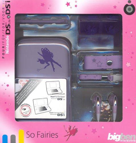 """Zubehör-Pack Girls \""""So Fairies\"""", lila oder pink Nintendo DSi, DS Lite"""