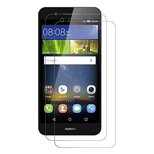 [2 Pack] Huawei P8 Lite Smart Schutzfolie, AICEK Touch Kompatibel Huawei P8 Lite Smart 5,0 Zoll Bildschirmschutzfolie Panzerglas Bildschirmschutz Screen Protector 9H Hardness Gehärtetem Glas