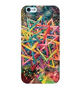 Printtech Slim Designer Abstract Design Pattern Back Case Cover for Apple iPhone 6 Plus