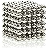 O-Toys Magnetic Balls Magnet Sculpture Creative Learning Educational Toy Building Blocks Puzzle Toys Anxiety Stress Relief Fidget Toys Home Office Decoration (5mm