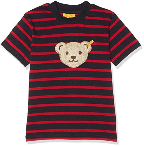 Steiff Baby-Jungen T-Shirt 1/4 Arm, Mehrfarbig (Y/D Stripe 0001), 62