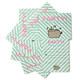 Thumbs Up pushinv8 Pusheen Party – Invitaciones para fiestas
