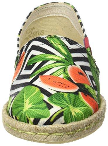 MISS HAMPTONS Jungle, Espadrilles femme multicolore (MUTICOLOR)