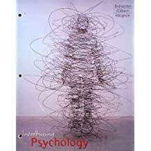 Introducing Psychology (Loose Leaf) & PsychPortal Access Card Pck Unbnd edition by Schacter, Daniel L., Gilbert, Daniel T., Wegner, Daniel M. (2010) Ring-bound