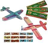 10 Stk. Styroporflieger Flugzeug - Flieger aus Styropor - Flugzeuge zum Werfen Wurfgleiter z.B. für Kindergeburtstag - Styroporvogel
