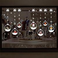 iStary 2018 Cabina De Navidad La Decoración Bola De Cristal Autoadhesiva Sala De Estar Dormitorio Etiqueta De La Pared Arte del Hogar Decoración Bolsos del Caramelo,Bolsos del Regalo