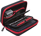BENDO New Nintendo 3DS XL / 3DS Hard Case/Tasche with 24 Game Holders + Free Large Stylus - Rot/Schwarz