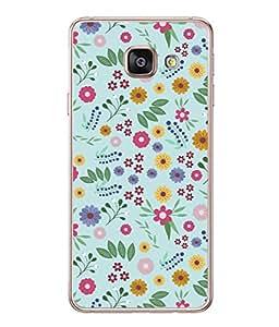 PrintVisa Designer Back Case Cover for Samsung Galaxy A5 (6) 2016 :: Samsung Galaxy A5 2016 Duos :: Samsung Galaxy A5 2016 A510F A510M A510Fd A5100 A510Y :: Samsung Galaxy A5 A510 2016 Edition (Cute Small Flowers And Plants Design)