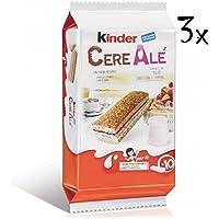 3x Kinder Ferrero Cerealè mit Himbeere aus italien 3x 10 Kuchen kekse brioche Lampone