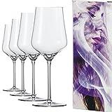 EISCH - Sky Sensis Plus Rotweinglas - 490 ml - 4 Stück - BREATHING PREMIUM GLASS - Premium Kristall-Glas Made in Germany. Dünnwandig und bruchfest.