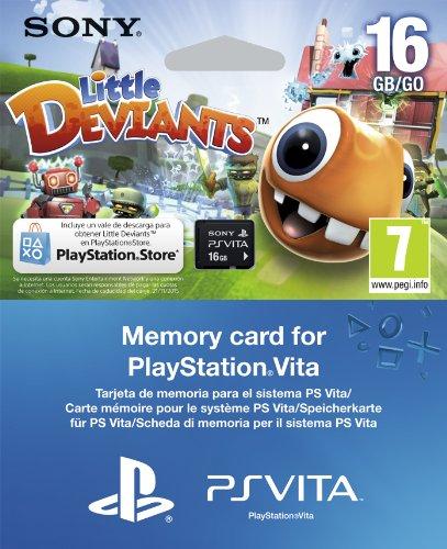 SONY - ACCESORIO SONY PSP VITA - MEMORY CARD 16GB + JUEGO PS VITA LITTLE DEVIANS