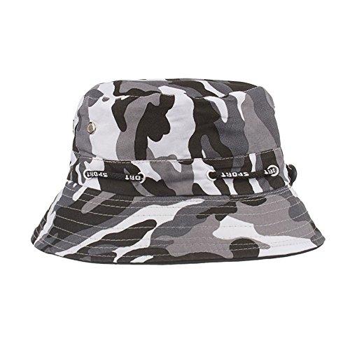 �r Herren und Damen, Unisex Sport Hüte Einstellbare Cap Camouflage Boonie Hüte nepalesische Kappe Army Mens Fischer Hut (Schwarz) (Michael Jackson Fedora Hut Schwarz)