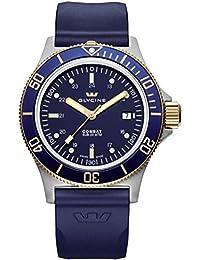 GLYCINE COMBAT SUB relojes hombre 3908.38-B6 D8D