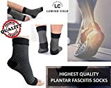 Lumino Cielo All-Day Compression Socks for Plantar Fasciitis Pain Relief and Ankle Support