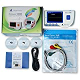 Heal Force Prince 180-B Easy Handheld Portable ECG Monitor With 3-Lead ECG Cable...
