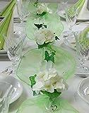 """Best Juegos de mesa de británicos - Peroné [estilo] juego completo colour blanco-colour verde """"Hortensia"""" Review"""