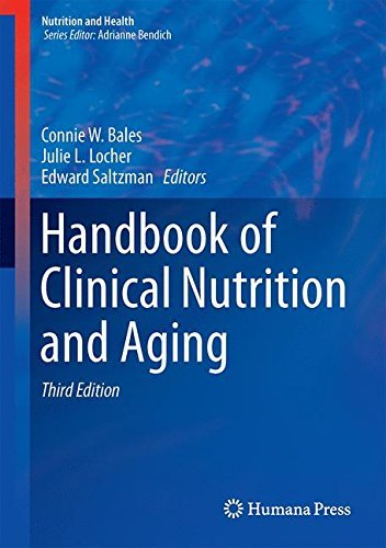 Handbook of Clinical Nutrition and Aging (Nutrition and Health) (2014-11-28) par unknown