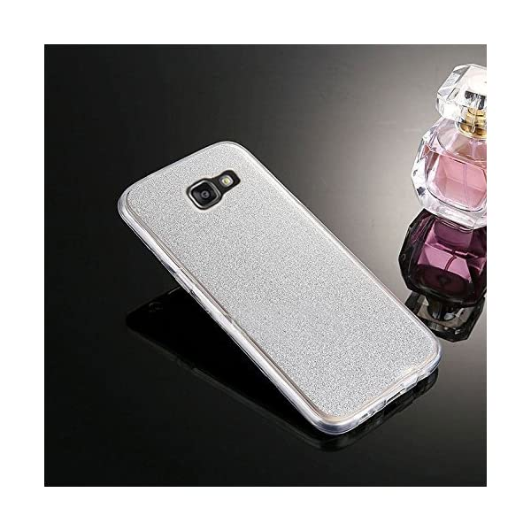 "Cover Galaxy A5 2017,Custodia Galaxy A5 2017, Custodia Cover Case per Galaxy A5 2017,ikasus® Custodia Silicone protettiva a 360 gradi Anteriore + Indietro Piena copertura Brillante luccichio Bling Custodia Cover per Galaxy A5 2017 Custodia Cover [Crystal TPU] [Shock-Absorption] Protettiva Trasparente Ultra Sottile Silicone Gel Cover Custodia chic Crystal Clear Case Super Sottile Bumper Case Custodia Cover per Samsung Galaxy A5 (2017) SM-A520F 5.2"" -"