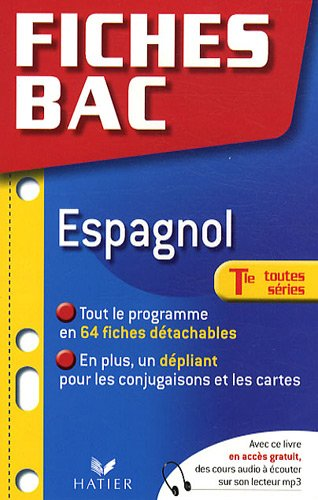 Espagnol Tle toutes séries