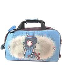 Travel bag 'gorjuss santoro blauviolett - 45x27x23 cm.