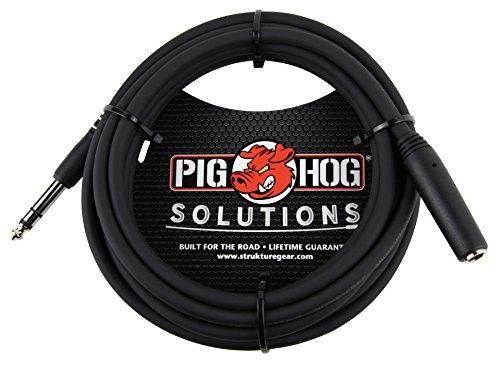 "PigHog Pig Hog PHX14-10 1/4"" TRSF to 1/4"" TRSM Headphone Extension Cable"