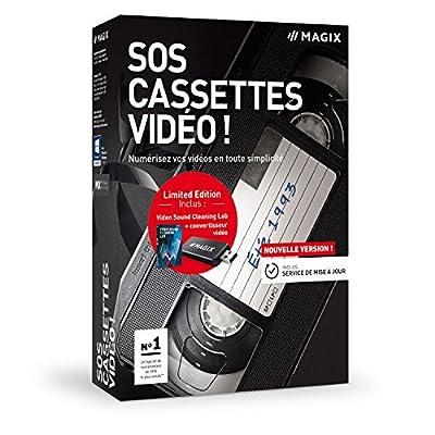 SOS Cassettes vidéo! - version 9 - Numérisez vos cassettes vidéo en toute simplicité de MAGIX - Logiciels