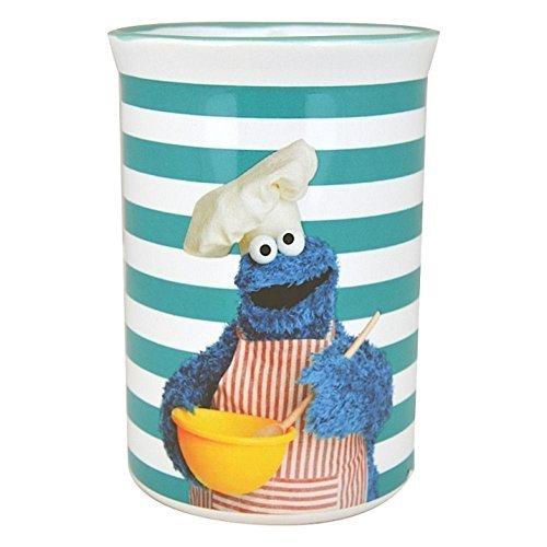 Monster-Utensilienbehälter (Sesame Cookie Monster)