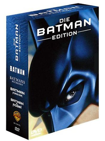 Bild von Die Batman Edition [4 DVDs]
