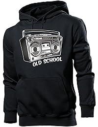 Ghetto - OLD SCHOOL Herren Kapuzenpullover S-XXL