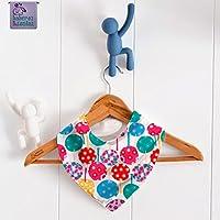 Babero bandana Árboles Colores. Para bebés, niños y adultos con necesidades especiales. P_77 ***Envío gratuito a España***