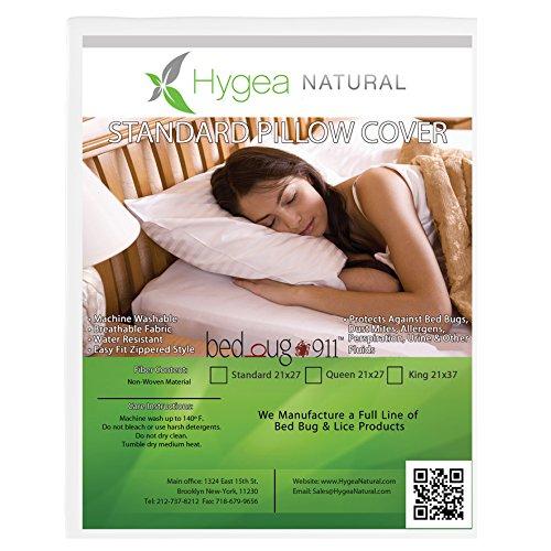 Bettwanzen 911® Standard, allergen & Bedbug Proof, wasserabweisend Kissenbezug, King Size 21? W x 37? L vergleichen Preis
