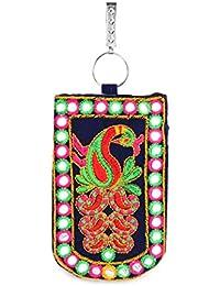 LadyBugBag Designer Assorted Trendy Mobile Pouch Wallet Saree Waist Clip Ladies Purse Clutch Gift For Women (Smart...