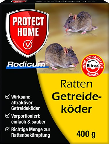 Rodicum Ratten Getreideköder 400 gr.