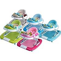 """IB-Style - Babywalker """"Little Driver"""" / """"Little World"""" 3 in 1 Gehfrei und Babyschaukel in 4 Farben Lauflernhilfe mit Spielfunktion - nach Europäischen Sicherheitsstandards EN 1723:2005"""