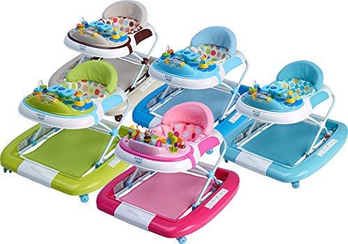 IB-Style - 3 en 1 Trotteur bébé Marcheur bébé Baby walker multifunction (swing) music et table de jeu - Pliable - rollover multifonctionnel marchette pour les enfants BEIGE