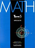 Image de Math, terminale S, enseignement de spécialité. Programme 1994
