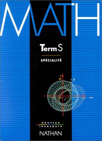 Math, terminale S, enseignement de spécialité. Programme 1994
