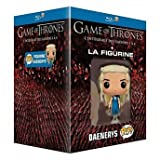 Game of Thrones (Complete Seasons 1-4) - 19-Disc Box Set & Daenerys Targaryen Figurine ( Game of Thrones - Seasons One to Four (40 Episodes) ) (Blu-Ray)