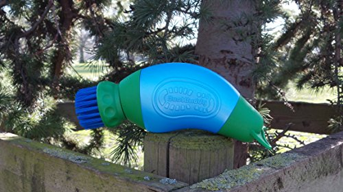 The Boot Buddy - The newest, fastest and simplest way to clean your muddy footwear will clean your muddy footwear in less than 5 minutes, using 300ml of water.