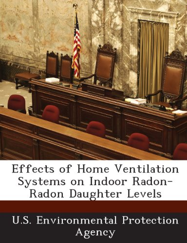 Effects of Home Ventilation Systems on Indoor Radon-Radon Daughter Levels -