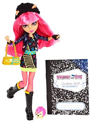 Monster High - Muñeca Howleen, 13 Wishes (Mattel Y7710) de Mattel