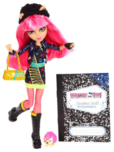 Monster High 13 Wishes Howleen Wolf Daughter of the Werewolf Englische Version