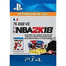 NBA 2k18 Pack 75.000 VC | Code Jeu PS4 - Compte français