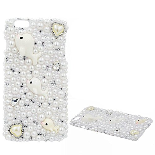 Spritech (TM 3D Bling Strass Design Hard Cover Case für ipod Touch 5, Style-1, Ipod Touch 5 - Den Bling 3d-cases 5 Für Ipod