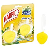 Harpic Active Fresh Twin RIM Bloquer Citrus 2 x 40 g