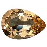Morganite Pietra preziosa sciolto 2.07 ct PGTL Certified Pear Cut (11 x 7 mm) Brazilian Morganite Loose Gemstone