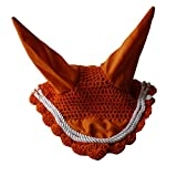 Rhinegold Voile de Mouches conçues pour s'asseoir dans Le Cadre de la Bride L Orange